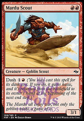 **2x FOIL Mardu Scout** FRF MTG Fate Reforged Common MINT red