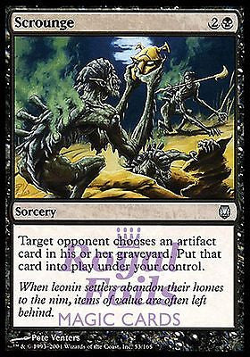 **3x FOIL Scrounge** DST MTG Darksteel Uncommon MINT black