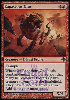 **1x FOIL Rapacious One** ROE MTG Rise of Eldrazi Uncommon MINT red
