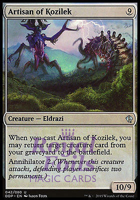 **1x FOIL Artisan of Kozilek** ROE MTG Rise of Eldrazi Uncommon MINT colorless