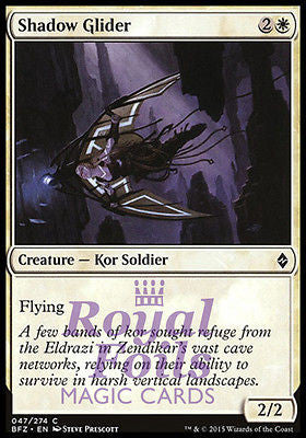 **4x FOIL Shadow Glider* BFZ MTG Battle for Zendikar Common NM white