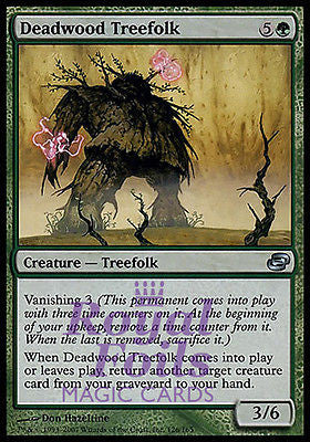 **1x FOIL Deadwood Treefolk** PLC MTG Planar Chaos Uncommon MINT green