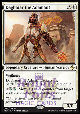 **1x FOIL Daghatar the Adamant FRF MTG Fate Reforged Rare MINT white