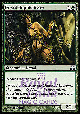 **3x FOIL Dryad Sophisticate** GPT MTG Guildpact Uncommon 2 MINT + 1 NM green