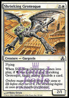 **4x FOIL Shrieking Grotesque** GPT MTG Guildpact Common MINT white black