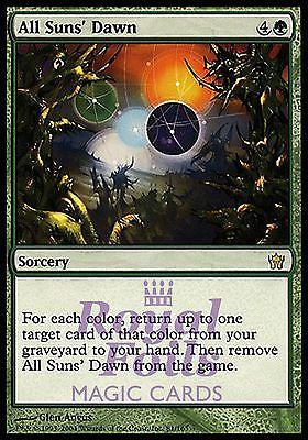 **1x FOIL All Suns' Dawn** 5DN MTG 5th Fifth Dawn Rare MINT green