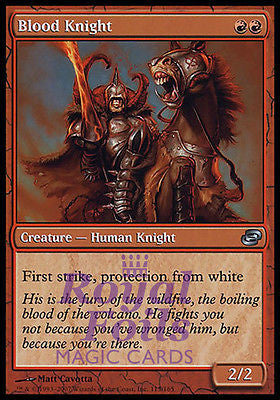 **1x FOIL Blood Knight** PLC MTG Planar Chaos Uncommon NM red