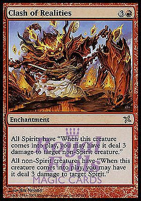 **1x FOIL Clash of Realities* BOK MTG Betrayers Kamigawa Rare MINT red
