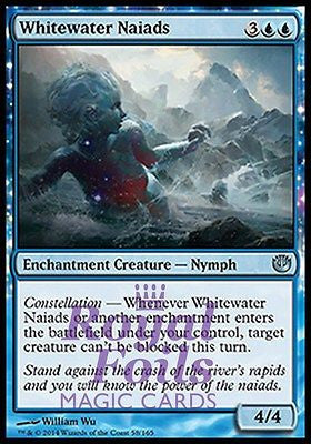 **2x FOIL Whitewater Naiads** JOU MTG Journey Into Nyx Uncommon MINT blue