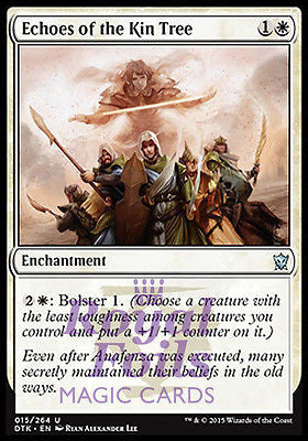 **4x FOIL Echoes of the Kin Tree** DTK MTG Dragons of Tarkir Uncommon MINT white