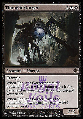 **1x FOIL Thought Gorger** ROE MTG Rise of Eldrazi Rare MINT black