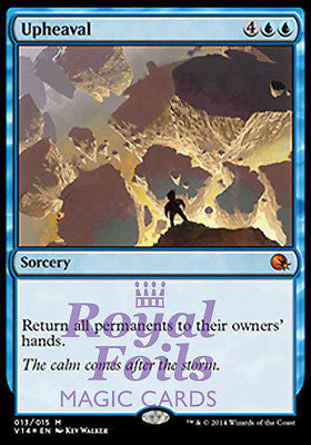 **1x FOIL Upheaval** MTG FTV From the Vault Annihilation MINT blue