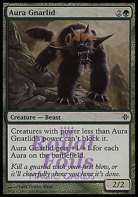 **1x FOIL Aura Gnarlid** ROE MTG Rise of Eldrazi Common MINT green