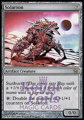 **1x FOIL Solarion** 5DN MTG 5th Fifth Dawn Rare MINT artifact