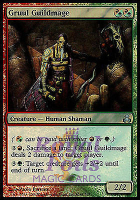 **4x FOIL Gruul Guildmage** GPT MTG Guildpact Uncom MINT red green