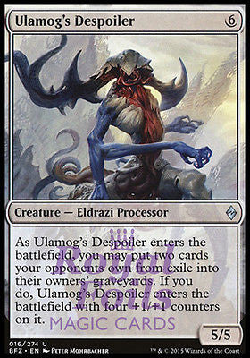 **4x FOIL Ulamog's Despoiler** BFZ MTG Battle for Zendikar Uncommon NM colorless