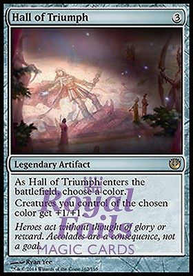 **1x FOIL Hall of Triumph* JOU MTG Journey Into Nyx Rare MINT artifact