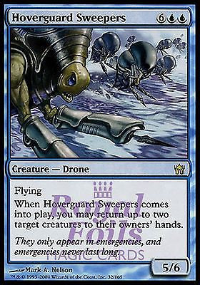 **1x FOIL Hoverguard Sweepers** 5DN MTG 5th Fifth Dawn Rare MINT blue