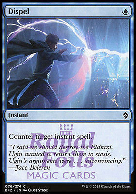 **1x FOIL Dispel** BFZ MTG Battle for Zendikar Common MINT blue