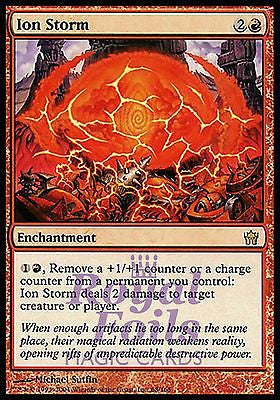 **1x FOIL Ion Storm** 5DN MTG 5th Fifth Dawn Rare MINT red