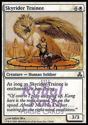 **4x FOIL Skyrider Trainee** GPT MTG Guildpact Common MINT white