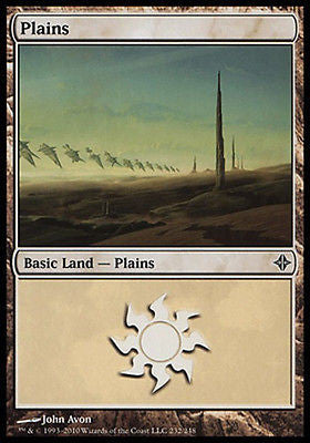 **2x FOIL Plains #232** ROE MTG Rise of Eldrazi Basic Land MINT white