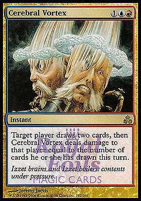 **1x FOIL Cerebral Vortex** GPT MTG Guildpact Rare MINT blue red