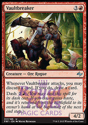 **2x FOIL Vaultbreaker** FRF MTG Fate Reforged Uncommon MINT red