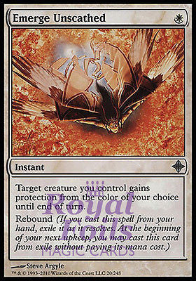 **1x FOIL Emerge Unscathed** ROE MTG Rise of Eldrazi Uncommon MINT white