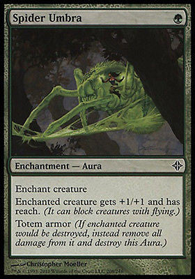 **1x FOIL Spider Umbra* ROE MTG Rise of Eldrazi Common MINT green