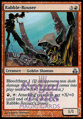 **4x FOIL Rabble-Rouser** GPT MTG Guildpact Uncommon MINT red goblin