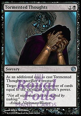 **2x FOIL Tormented Thoughts** JOU MTG Journey Into Nyx Uncommon MINT black