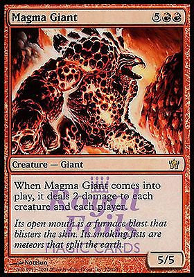 **1x FOIL Magma Giant** 5DN MTG 5th Fifth Dawn Rare MINT red