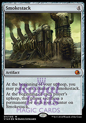 **1x FOIL Smokestack** MTG FTV From the Vault Annihilation MINT artifact