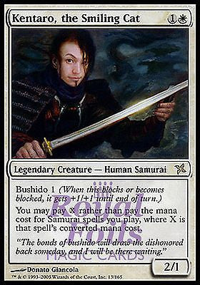 **1x FOIL Kentaro the Smiling Cat** BOK MTG Betrayers Kamigawa Rare MINT white