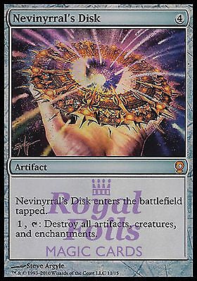 **1x FOIL Nevinyrral's Disk** FTV MTG From the Vault Relics MINT artifact