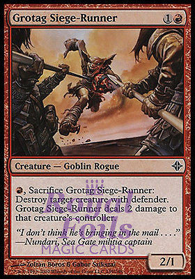 **4x FOIL Grotag Siege-Runner ROE MTG Rise of Eldrazi Common MINT red