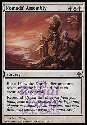 **1x FOIL Nomads' Assembly** ROE MTG Rise of Eldrazi Rare MINT white