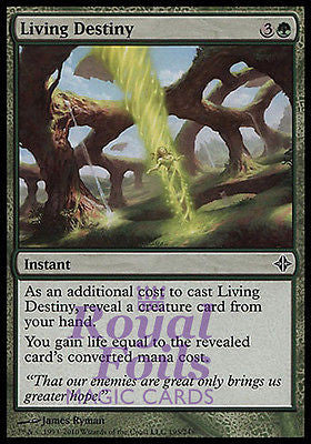 **4x FOIL Living Destiny** ROE MTG Rise of Eldrazi Common MINT green