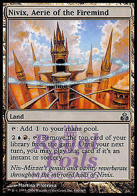 **4x FOIL Nivix Aerie of the Firemind** GPT MTG Guildpact Uncommon 3 MINT + 1 NM blue red