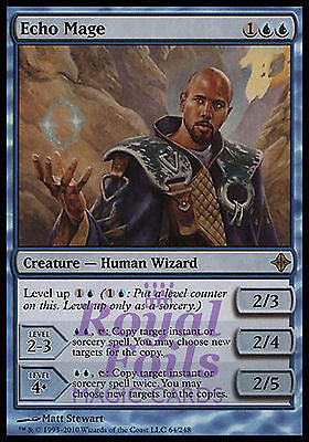 **1x FOIL Echo Mage** ROE MTG Rise of Eldrazi Rare NM blue