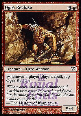 **3x FOIL Ogre Recluse** BOK MTG Betrayers Kamigawa Uncommon MINT red warrior
