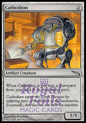 **3x FOIL Cathodion** MDN MTG Mirrodin Uncommon MINT artifact