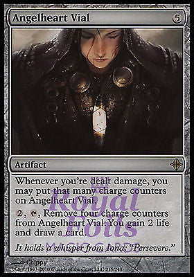 **1x FOIL Angelheart Vial** ROE MTG Rise of Eldrazi Rare MINT artifact