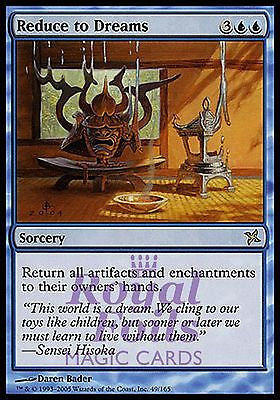 **1x FOIL Reduce to Dreams** BOK MTG Betrayers Kamigawa Rare MINT blue