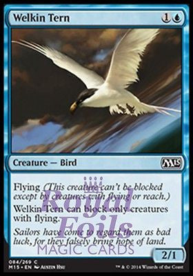 **4x FOIL Welkin Tern** MTG M15 Core Set Common MINT blue bird