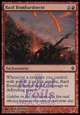 **3x FOIL Raid Bombardment** ROE MTG Rise of Eldrazi Common MINT red