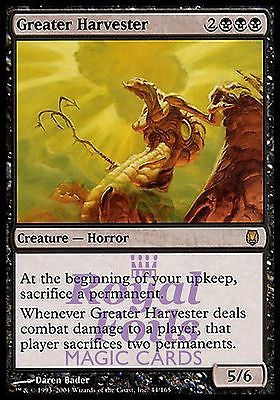 **1x FOIL Greater Harvester** DST MTG Darksteel Rare MINT black