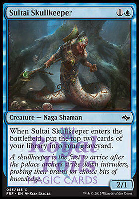 **4x FOIL Sultai Skullkeeper* FRF MTG Fate Reforged Common MINT blue