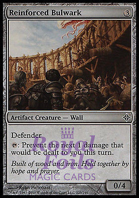 **4x FOIL Reinforced Bulwark** ROE MTG Rise of Eldrazi Common MINT artifact